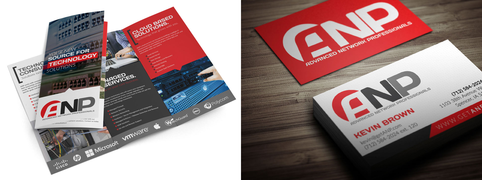 Advanced Network Professionals Print Design
