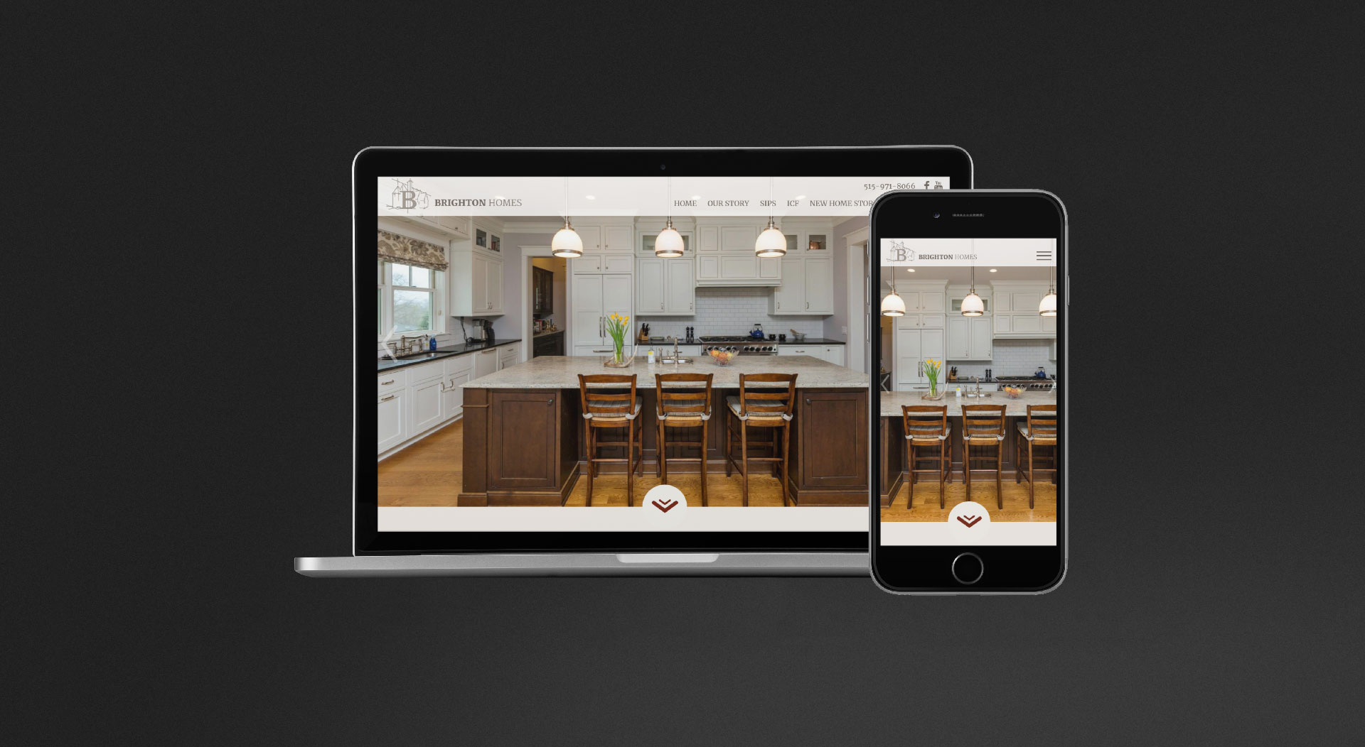 Brighton Homes Responsive Web Design