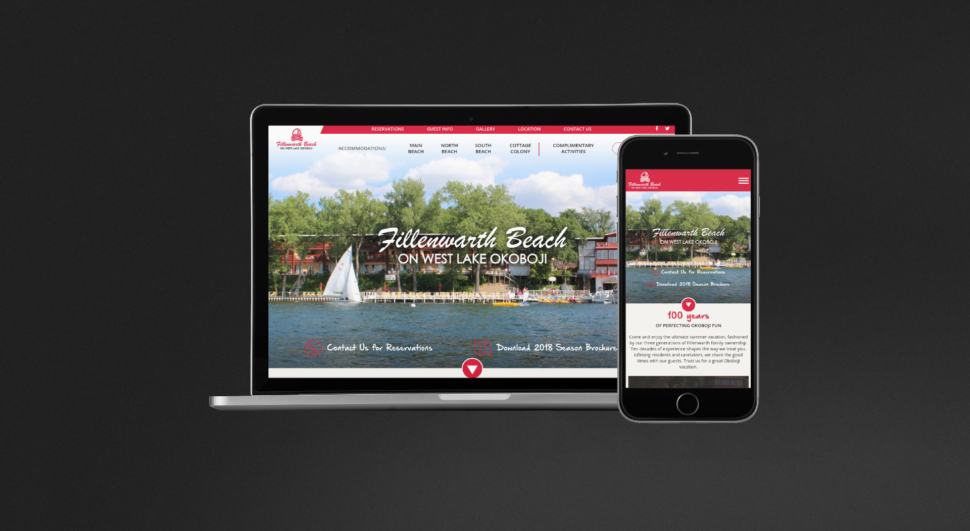 Fillenwarth Beach Responsive Web Design