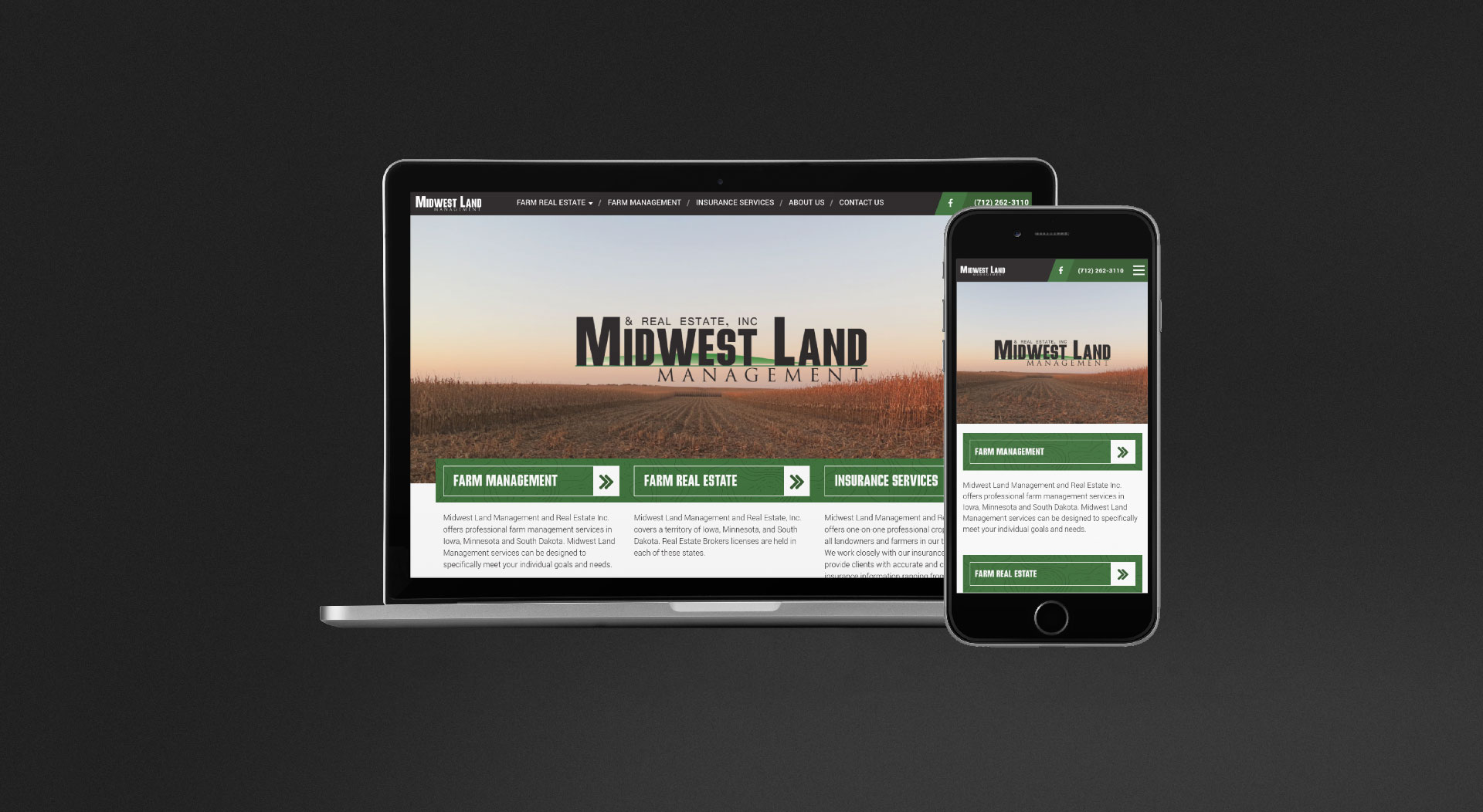 Midwest Land Management Responsive Web Design