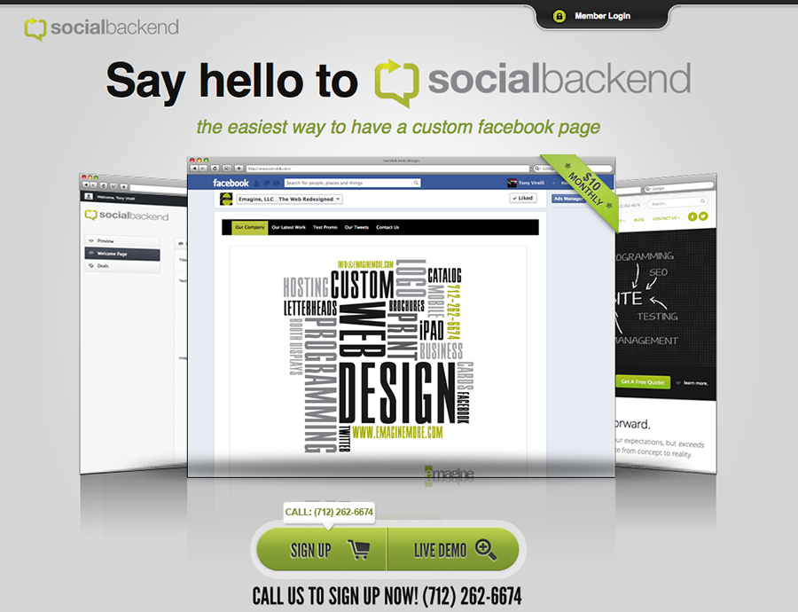 Take Your Facebook Page To The Next Level With SocialBackend