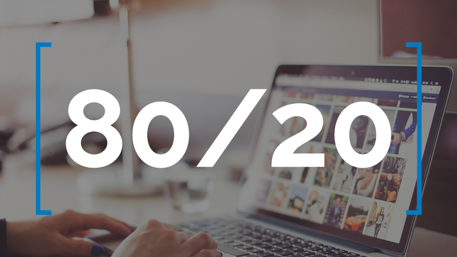 How You Can Use the 80/20 Rule to Boost Your Social Media Response